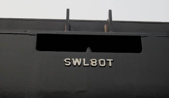 Standard every Stan Pontoon has an integrated emergency towing pin