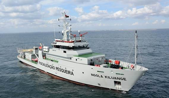 Damen Fishery and Surveillance Vessel Ngola Kiluange