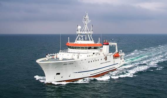Fishery Research Vessel 7417 'Baía Farta'
