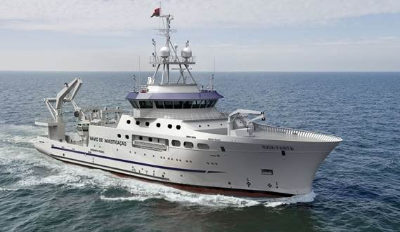Damen Fishery Research Vessel 7417 Baia Farta