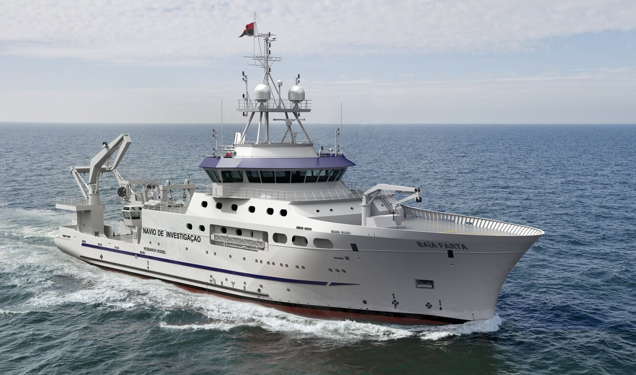 Damen Fishery Research Vessel 7417