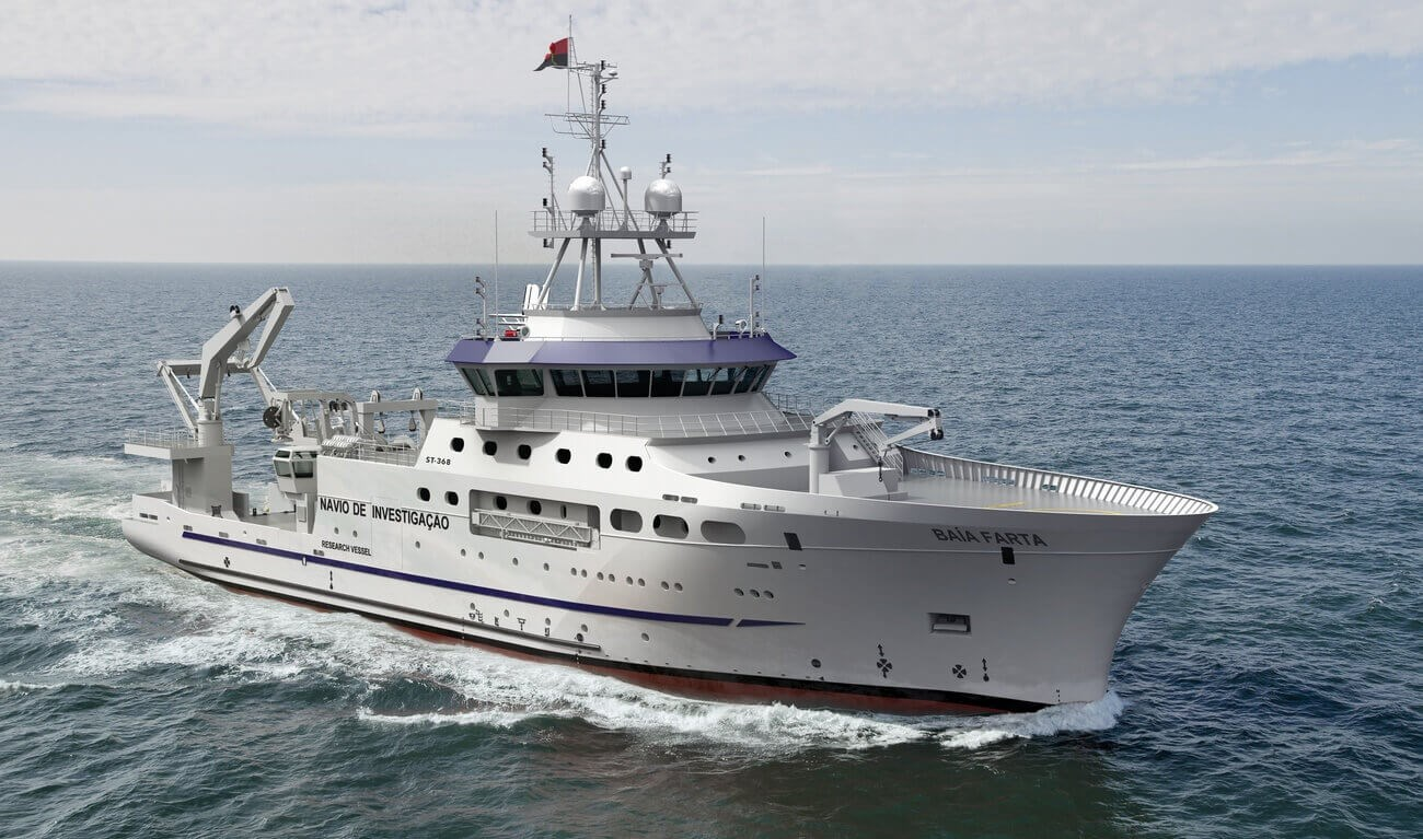 Damen Fishery Research Vessels are designed and constructed to the highest levels of scientific and environmental standards.