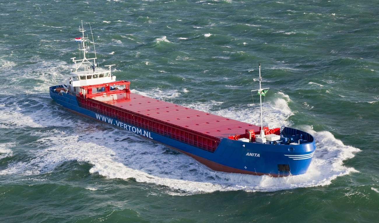 At the end of December, 2013, the sea-river cargo vessel 'Anita' was delivered to Antje G. Shipping BV