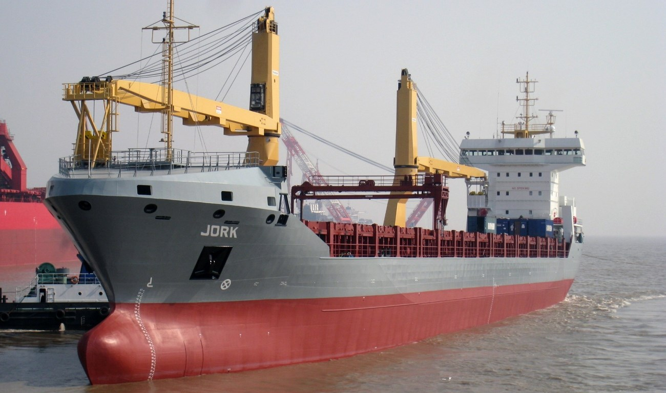 "In November 2010, MV ""Jork"" was delivered to Scheepvaartonderneming ""Jork"" CV"