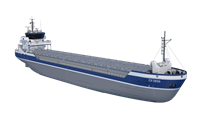 damen combi freighter 3850 preview