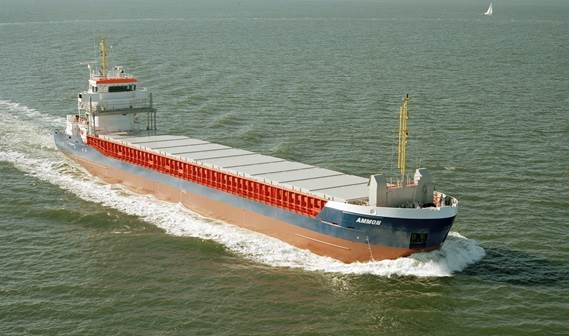 Basic functions: Transport of bulk, steel coils, containers, forest products, general cargo, etc
