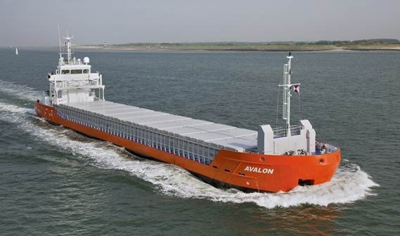 Owner: Avalon Shipping CV, Indijk, the Netherlands