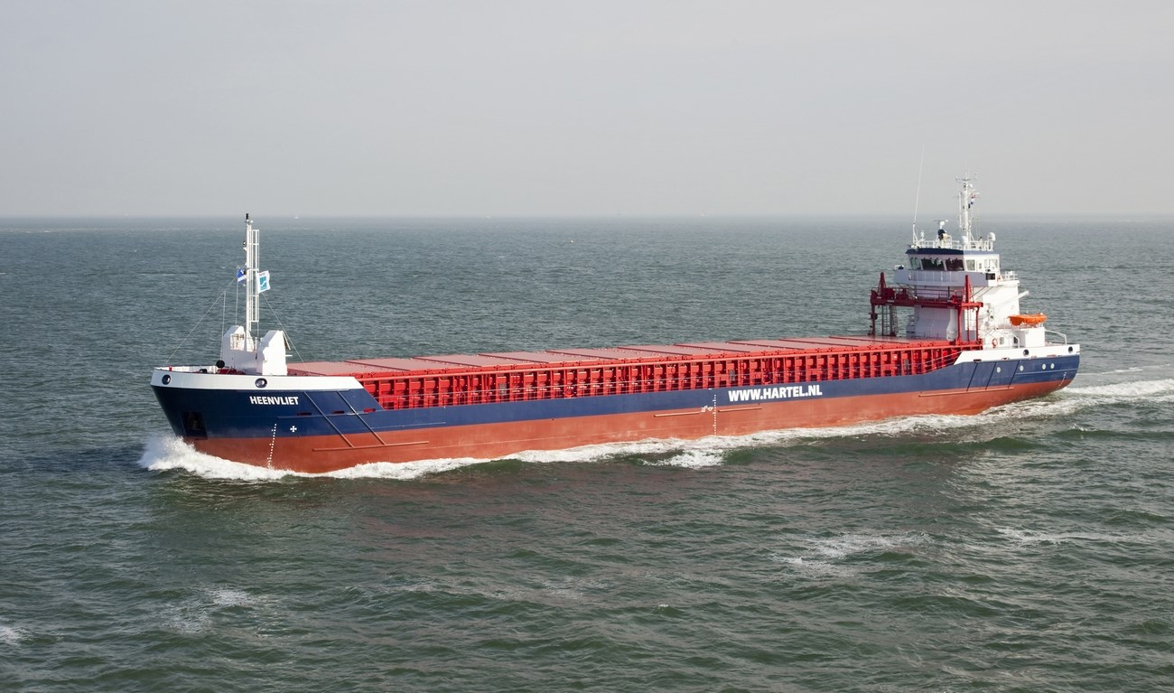 Ms. 'Heenvliet' was delivered to Hudig & Veder BV and Hartel Shipping & Chartering BV in October 2011