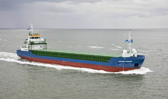 'Johanna Desiree' was delivered to her German owner in October 2010