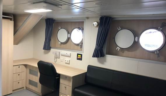 Engineer bedroom | Damen Combi Freighter 3850