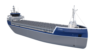damen combi freighter 5000 preview