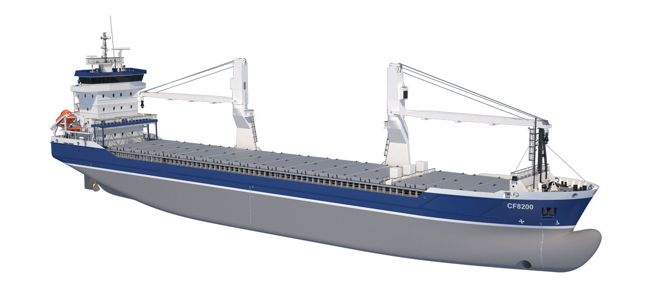 This multi-purpose vessel is equipped with the latest technology to reduce fuel consumption without limiting the operational features