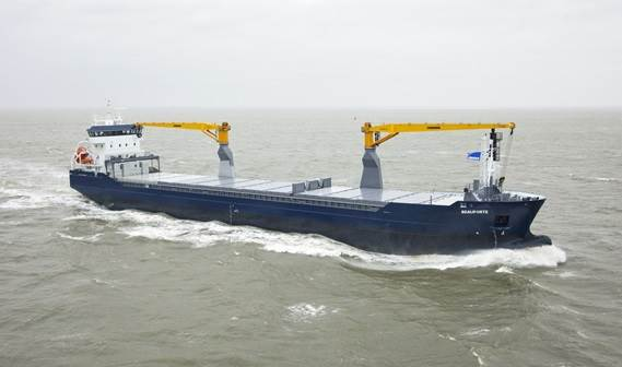 'Beauforte' was the second multi-purpose vessel to be delivered to her owner Beauforce BV