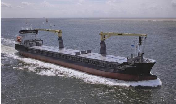 Basic functions: transport of bulk, steel coils, containers, forest products, general cargo etc