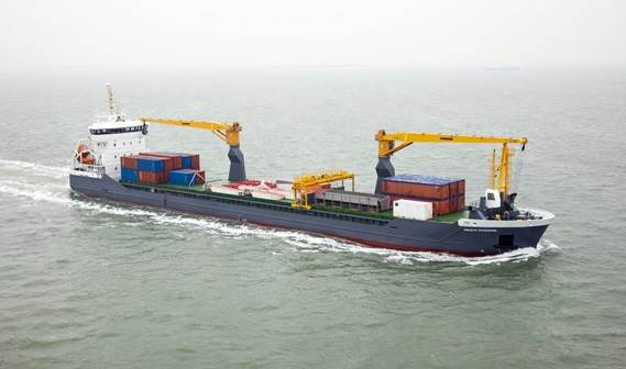 The multi-purpose vessel 'Trade Navigator' was handed over to owner FWN Trade BV in December 2013
