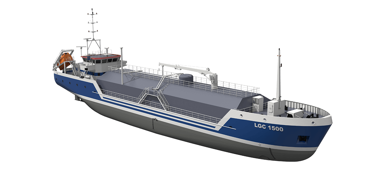 Liquefied Gas Carrier 1500 LNG