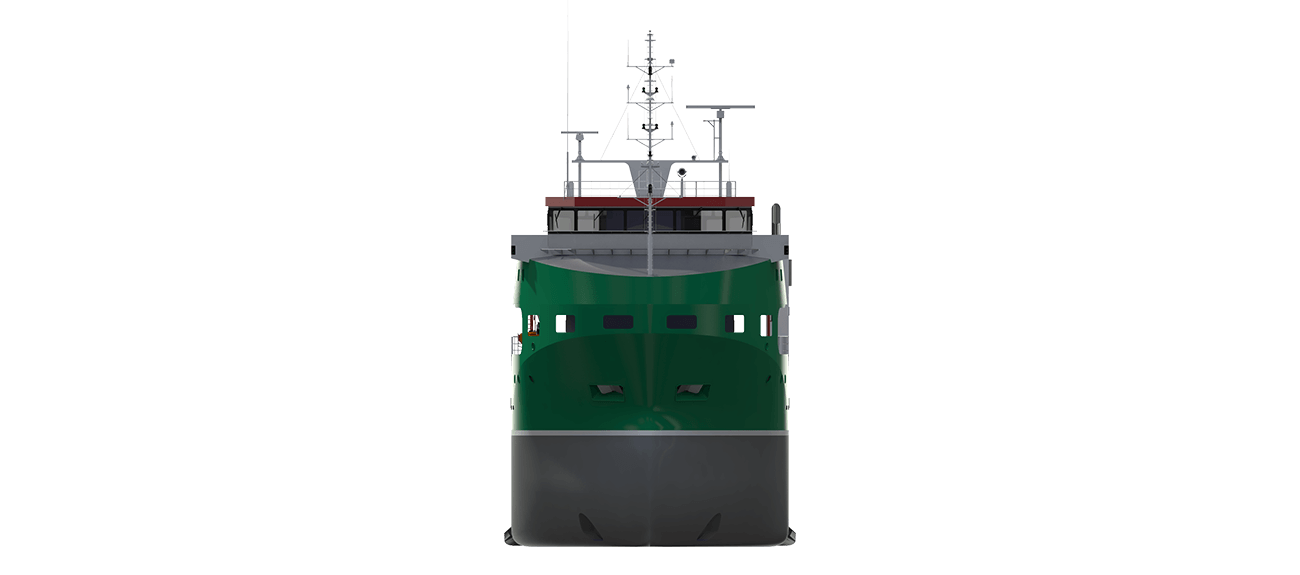As an open top carrier the vessel can be used to load exceptional cargoes for the offshore industry, in terms of both size and weight.
