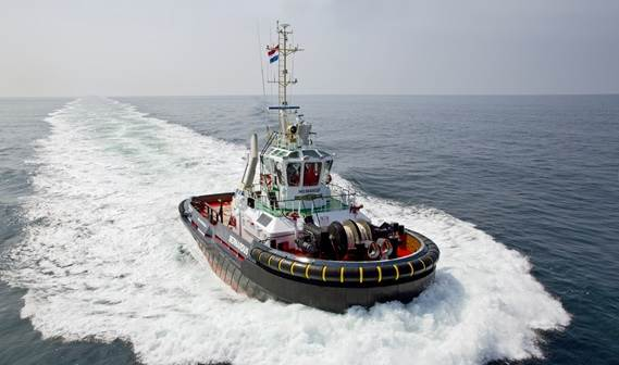In June 2014, the first Damen ASD 2810 Hybrid was delivered to Iskes Towage & Salvage.