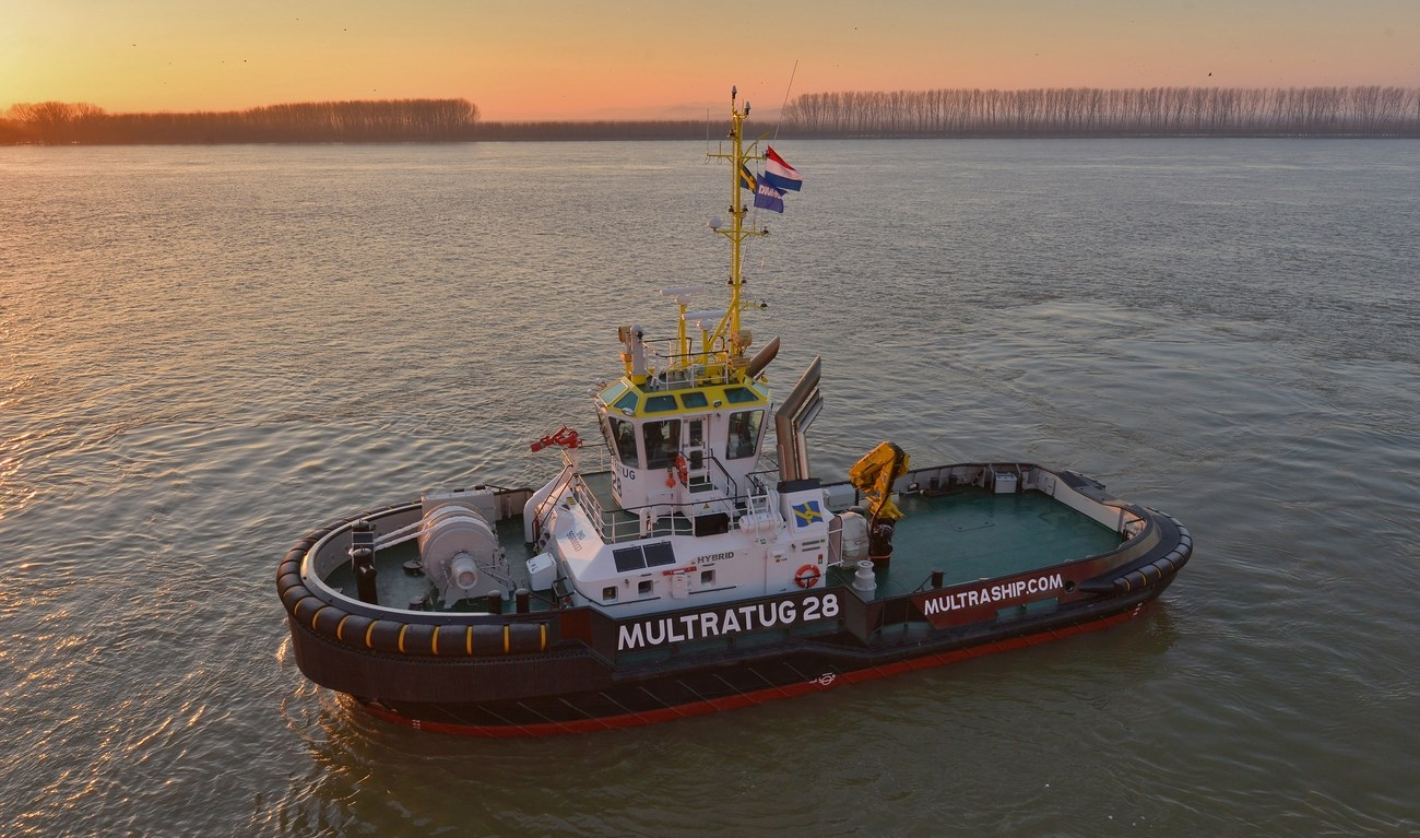 Multraship, the Netherlands-based towage and salvage specialist, recently took delivery of a Damen ASD 2810 Hybrid tug vessel