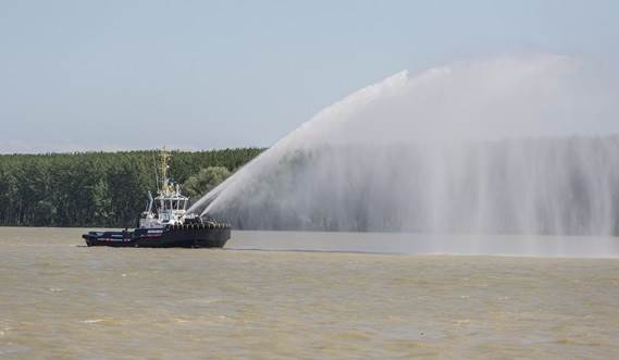 The Damen ASD Tug 2810 incorporates state-of-the-art solutions for corrosion prevention.