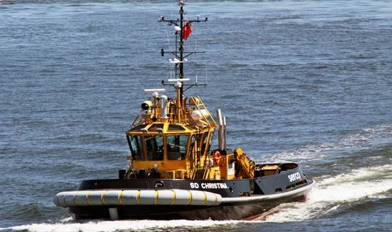 SD Marine Services in the UK took delivery of 'SD Eileen' on May 5, 2010.