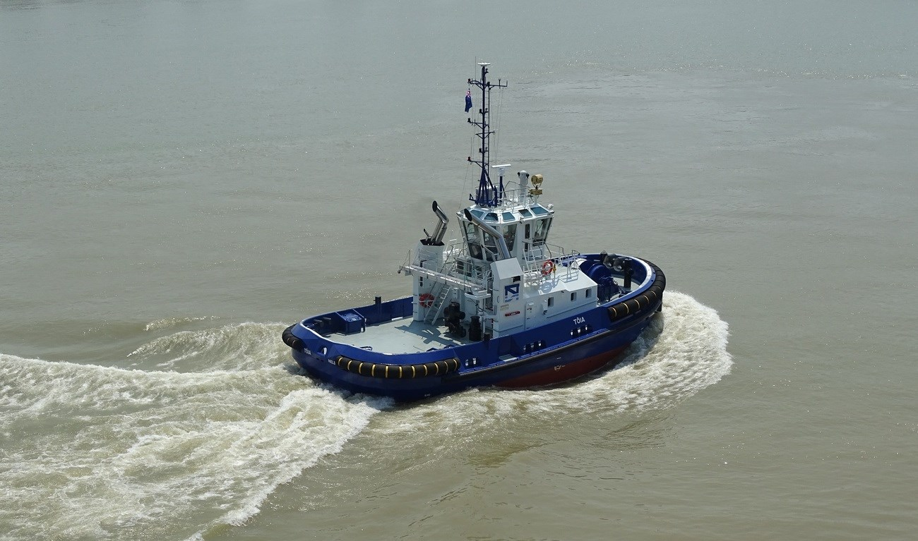 Port Nelson has taken delivery of a Damen ASD Tug 2310