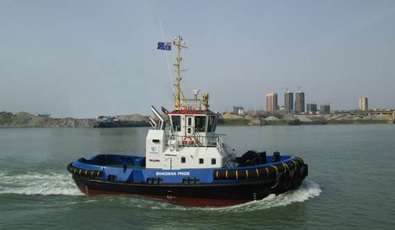 Bhagwan Marine takes Delivery of Damen ASD 2310