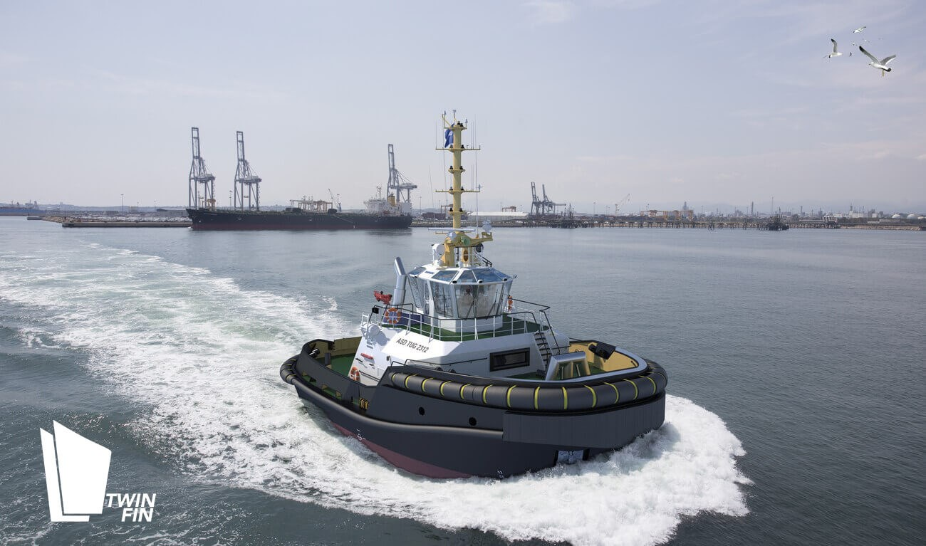 The next-generation ASD Tug 2312 builds on the popular ASD Tug 2310 to deliver a safe and highly efficient escort tug for the 2020s and beyond.