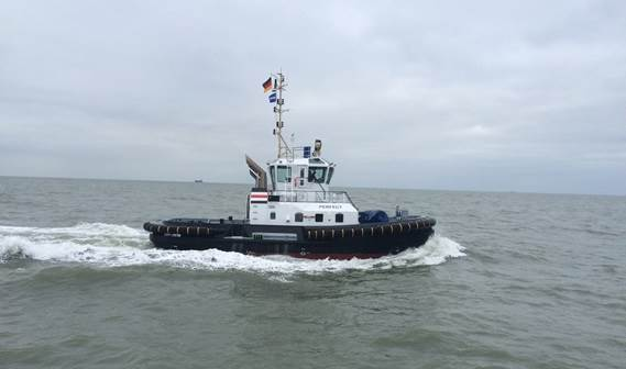 Leading German towage services provider URAG has taken delivery of two ASD 2411 Tugs to add to its existing fleet.