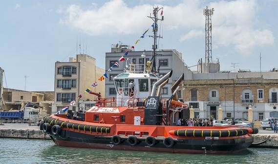 Rimorchiatori Riuniti takes delivery of Damen ASD 2411