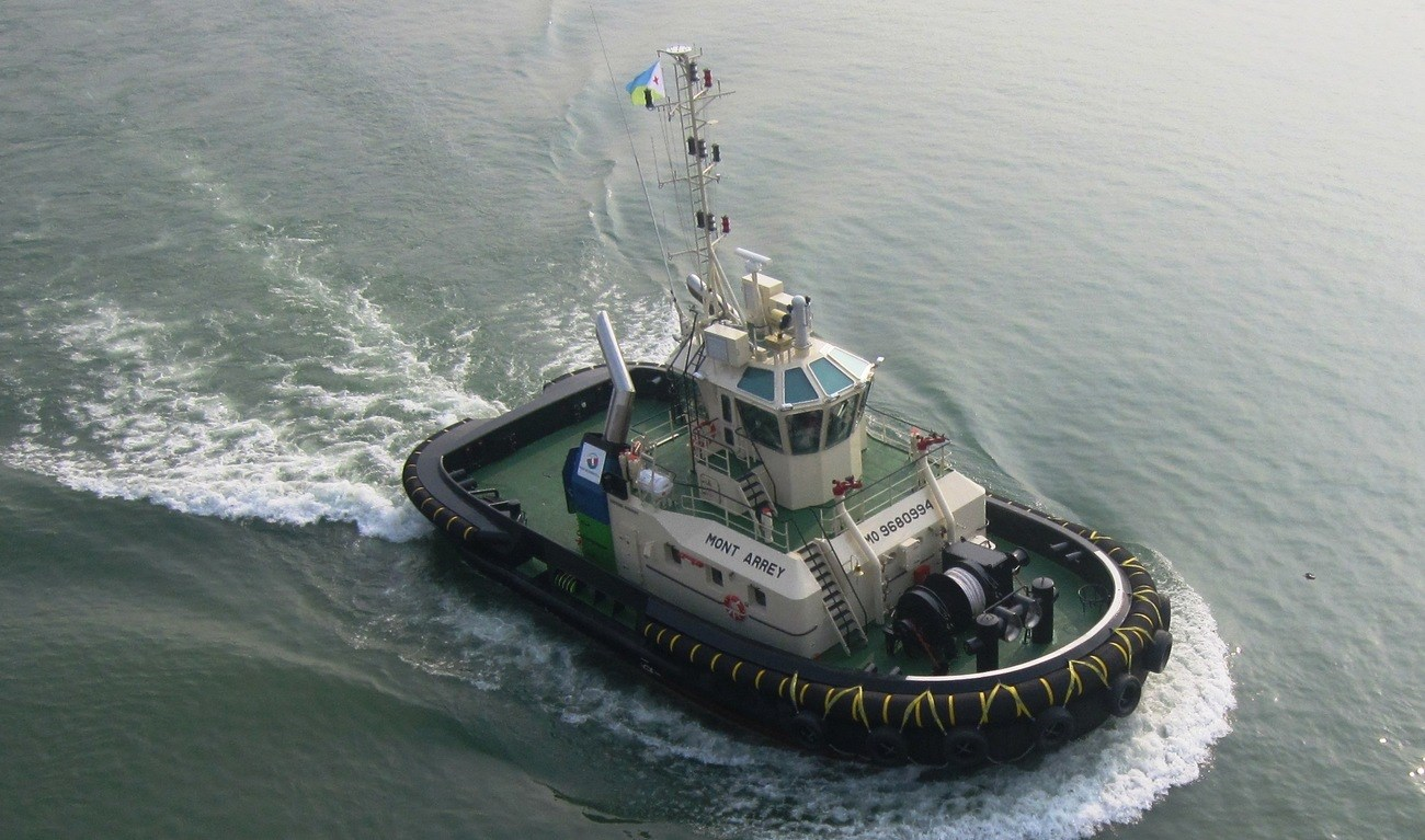 Damen ASD Tugs series have excellent working and sailing conditions.