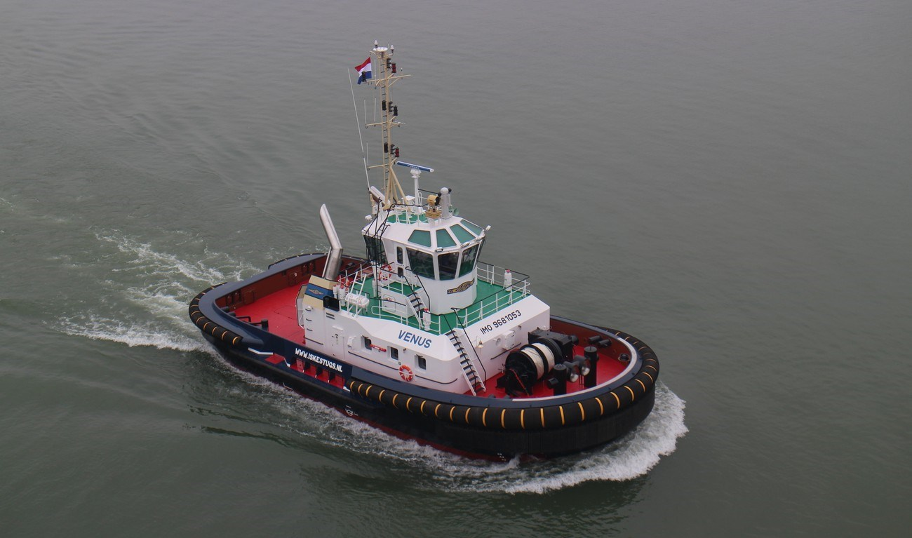 Iskes Towage & Salvage took delivery of a Damen ASD Tug 2411