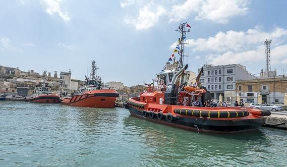 nitially flying the Maltese flag, the 24.5 metre ASD 2411 will temporarily be prospecting for work in the Mediterranean under the auspices of Tug Malta.
