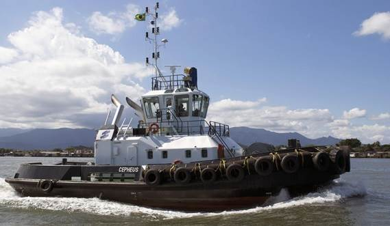 The ASD Tug and its crew make an excellent team, benefiting from the safe working environment that has been created for all onboard.