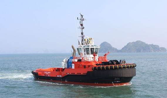 Damen Shipyards Group recently delivered an ASD Tug 2810 to Rimorchiatori Augusta.