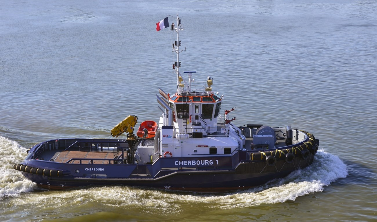 The Port of Caen/Chamber of Commerce & Industry Caen Normandy has taken delivery of a ASD Tug 2810