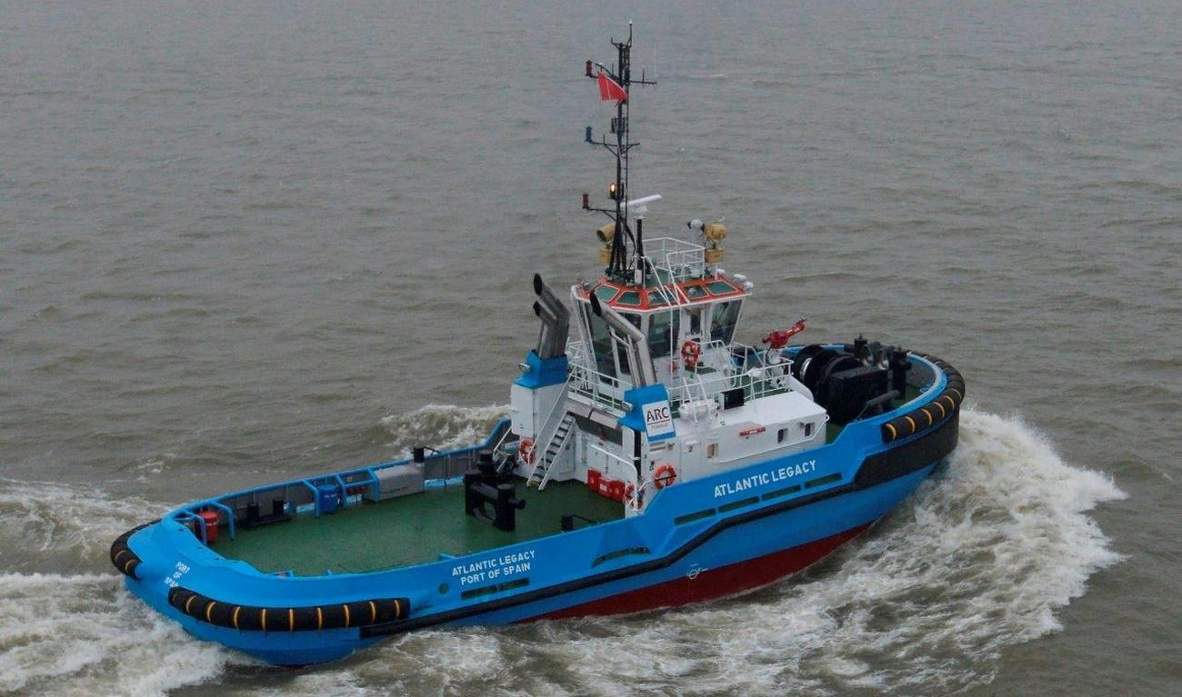 Two more Damen ASD 2810 tugs are on their way to ARC Towage in Trinidad & Tobago