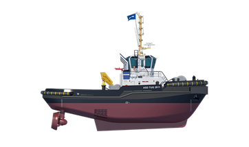 Damen ASD Tug 2811 side view