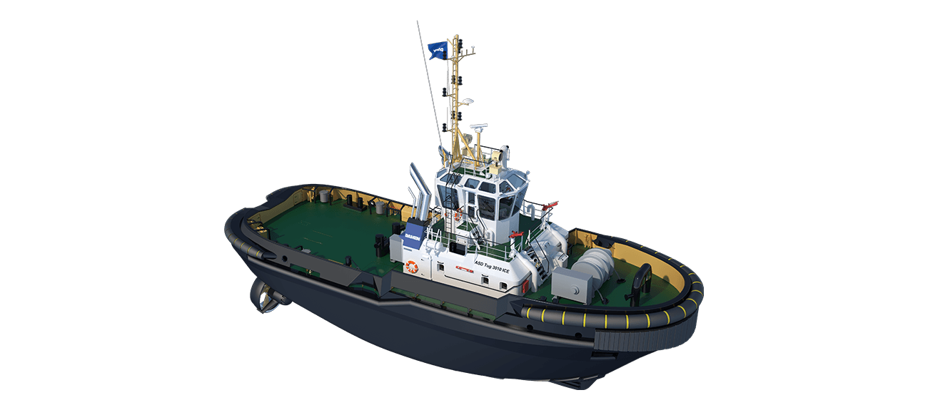 High quality & heavy duty execution ASD Tug 3010 ICE Class.