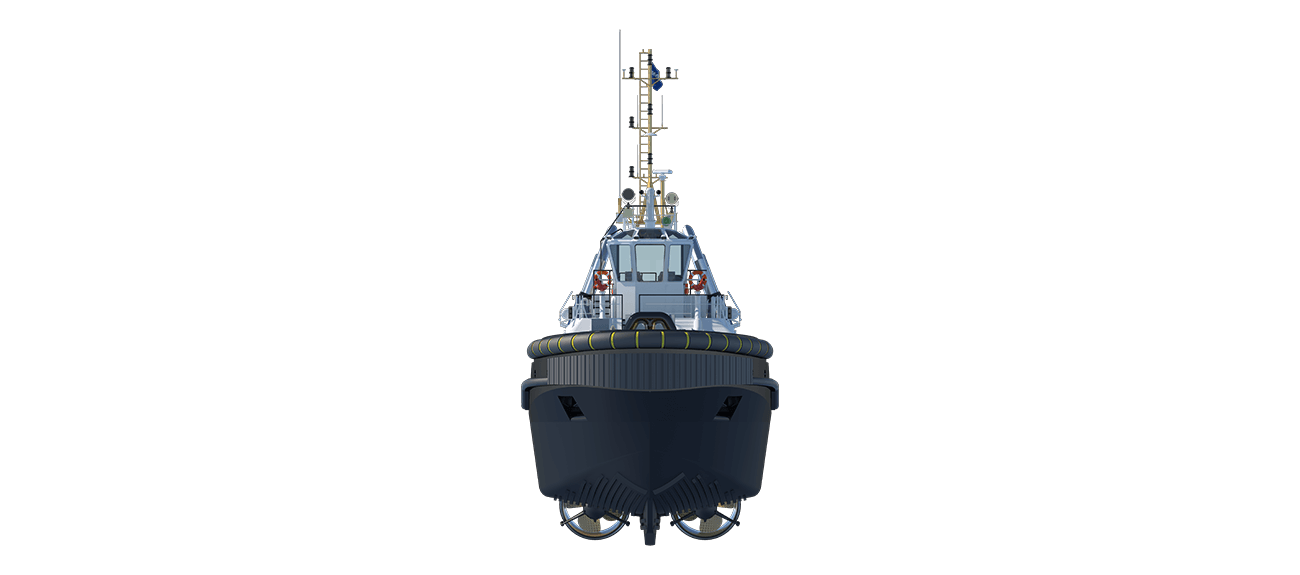 Reliability, proven and tested technology in Azimuth Tug 3010 ICE class.