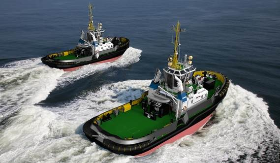 She is a heavily built vessel with rigid foundations, extra plate thickness, extra brackets and extra fendering