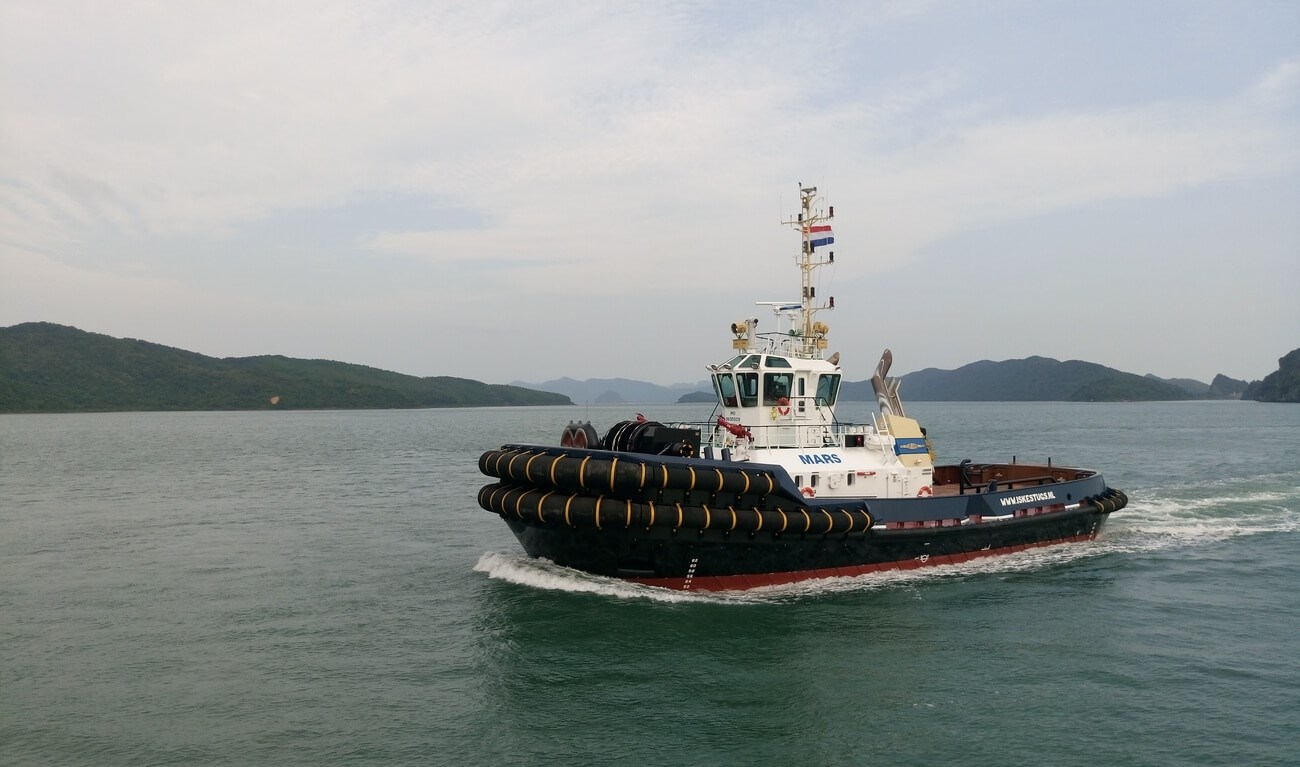 Iskes Towage and Salvage have added a new ASD Tug 3212 to its fleet.
