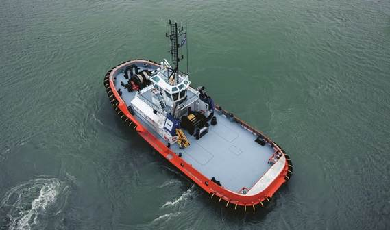 This is an excellent tug for assisting in offshore conditions at LNG and oil terminals.