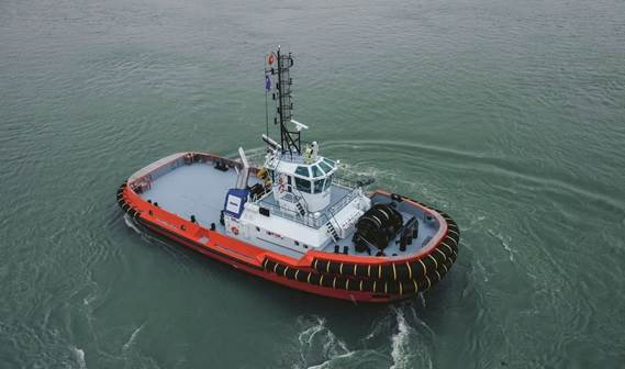 The ASD Tug 3212 has been specifically designed to ensure good sea-keeping characteristics.