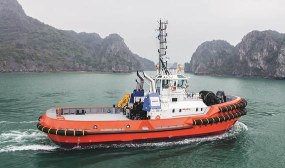 The Damen  ASD Tug 3212 incorporates the most state-of-the-art solutions for corrosion prevention.