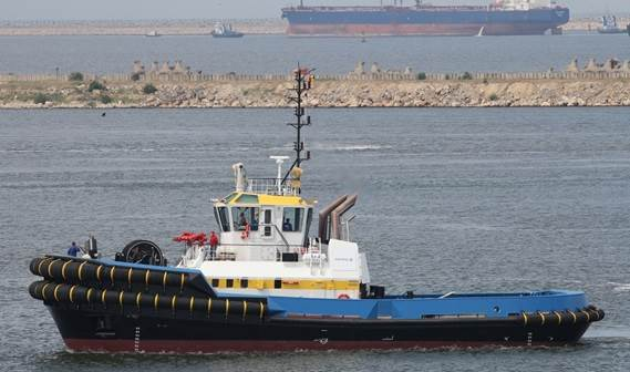 In June 2012 the ASD Tug 3212 'Kin' was delivered to Colombian tugboat operator Intertug S.A.