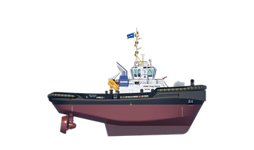 Damen ASD Tugs 3213 have excellent working and sailing ability.
