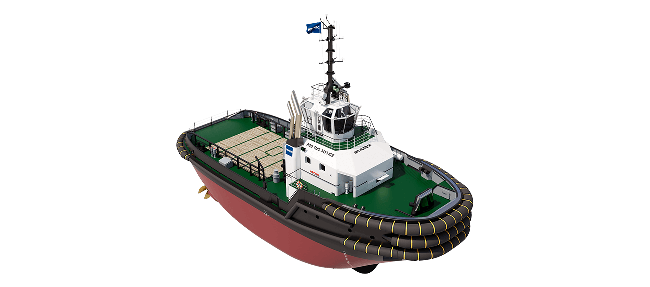 The ASD Tug Boat 3413 ICE for multipurpose activities