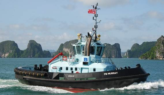 Damen ASD tugs: safe, reliable & innovative.