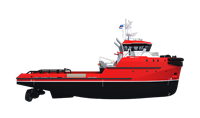 Excellent fuel economy Damen tug